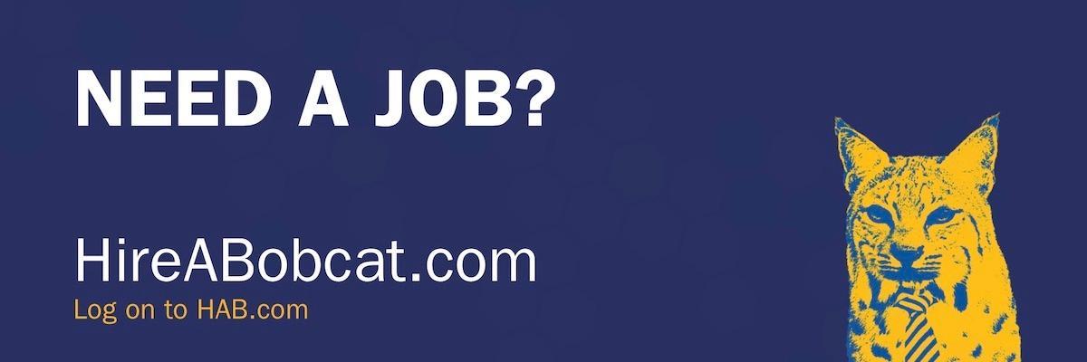 "Poster states, ""Need a Job?"" Log on to HAB.com"
