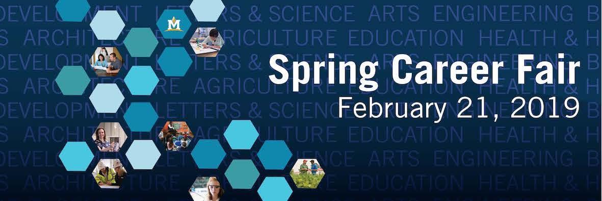 Spring Career Fair February 21, 2019
