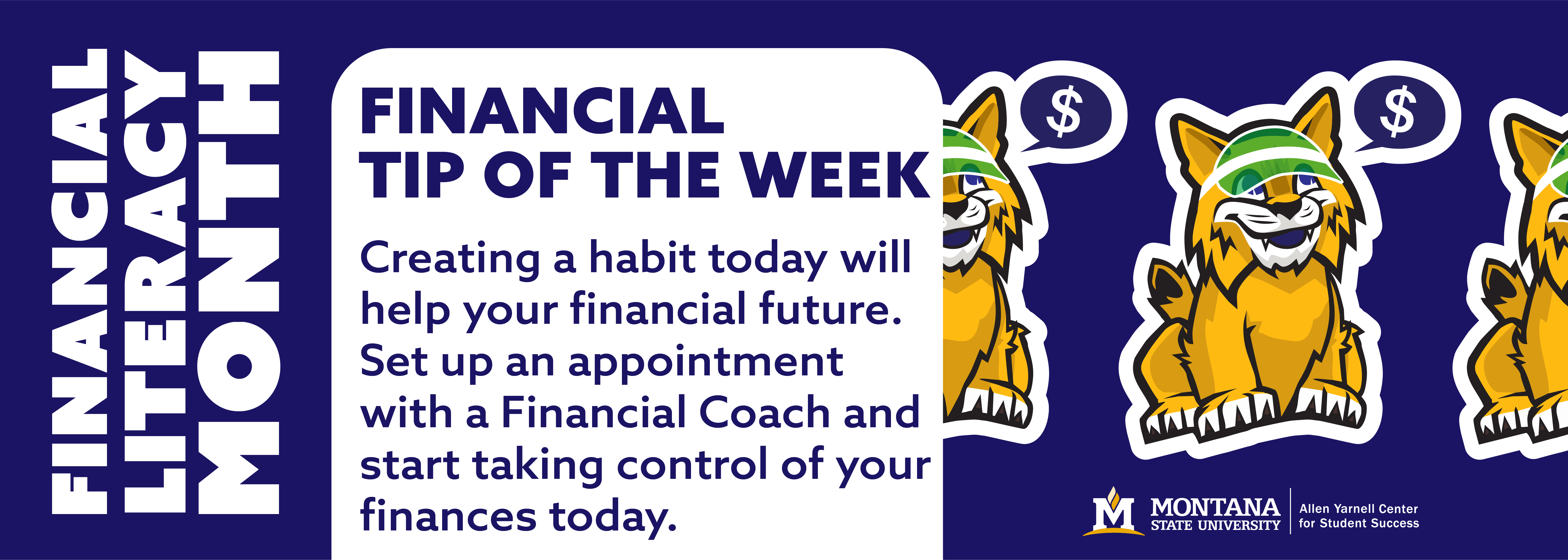 Financial Literacy Month - Tip of the week