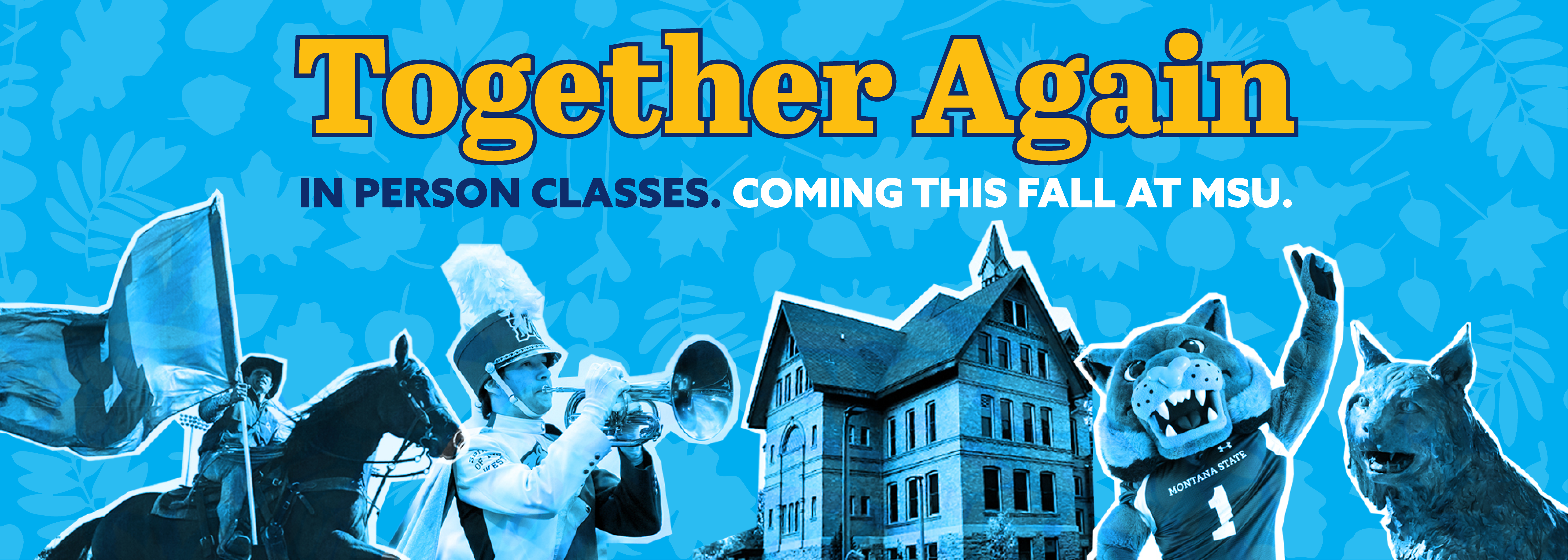 Together Again In Person Classes coming this fall