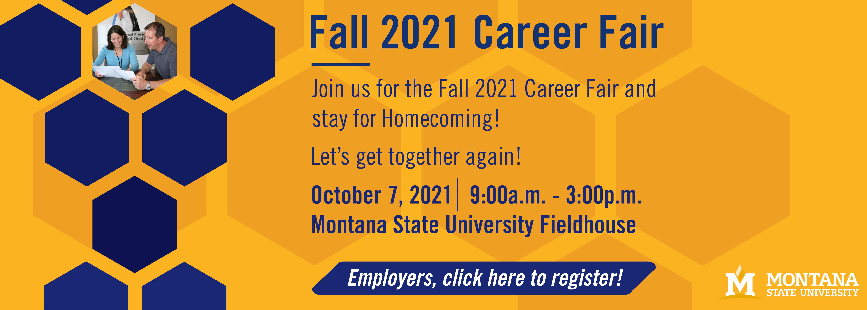 fall 2021 career fair