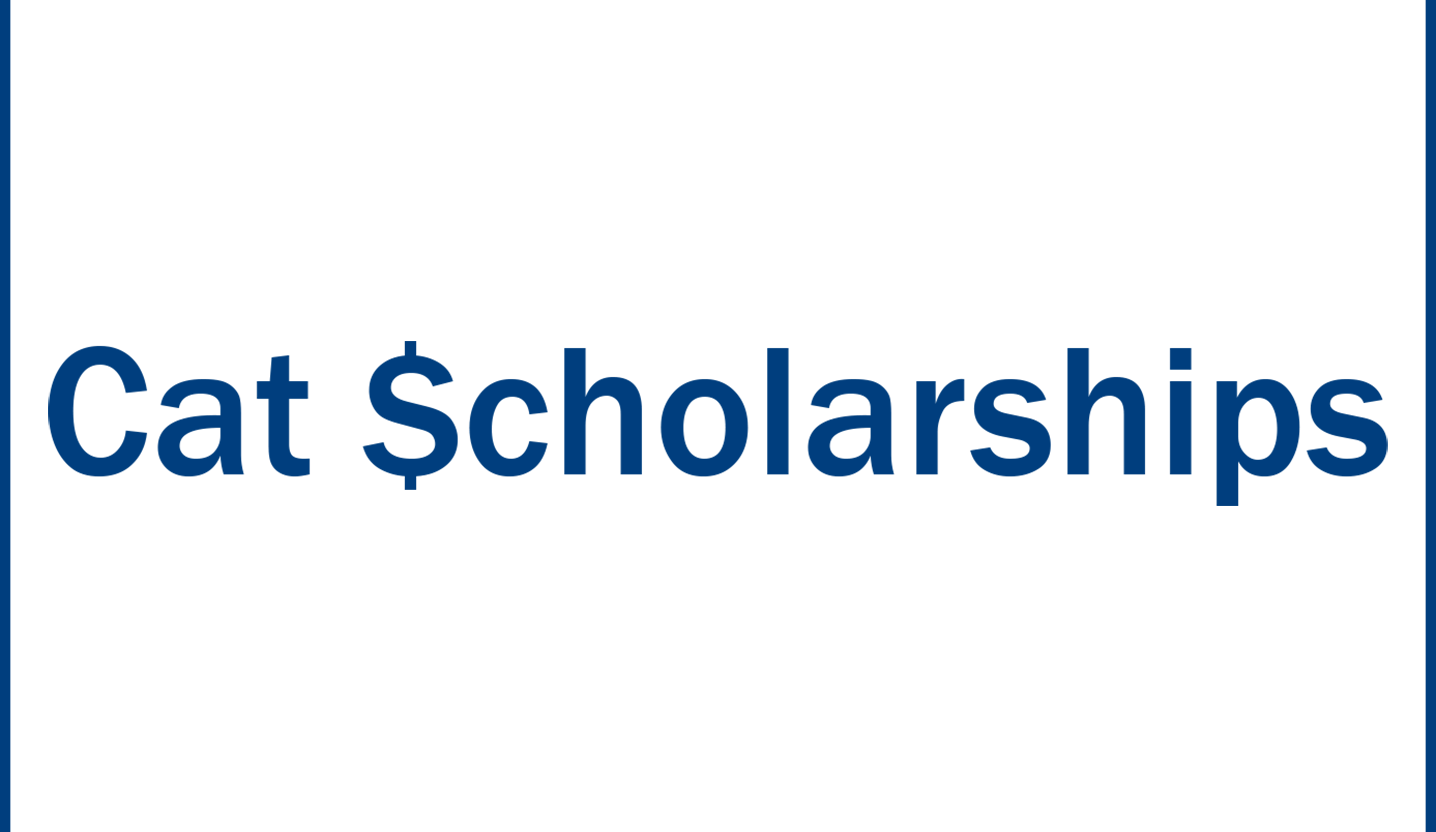 A picture of the cat scholarships logo