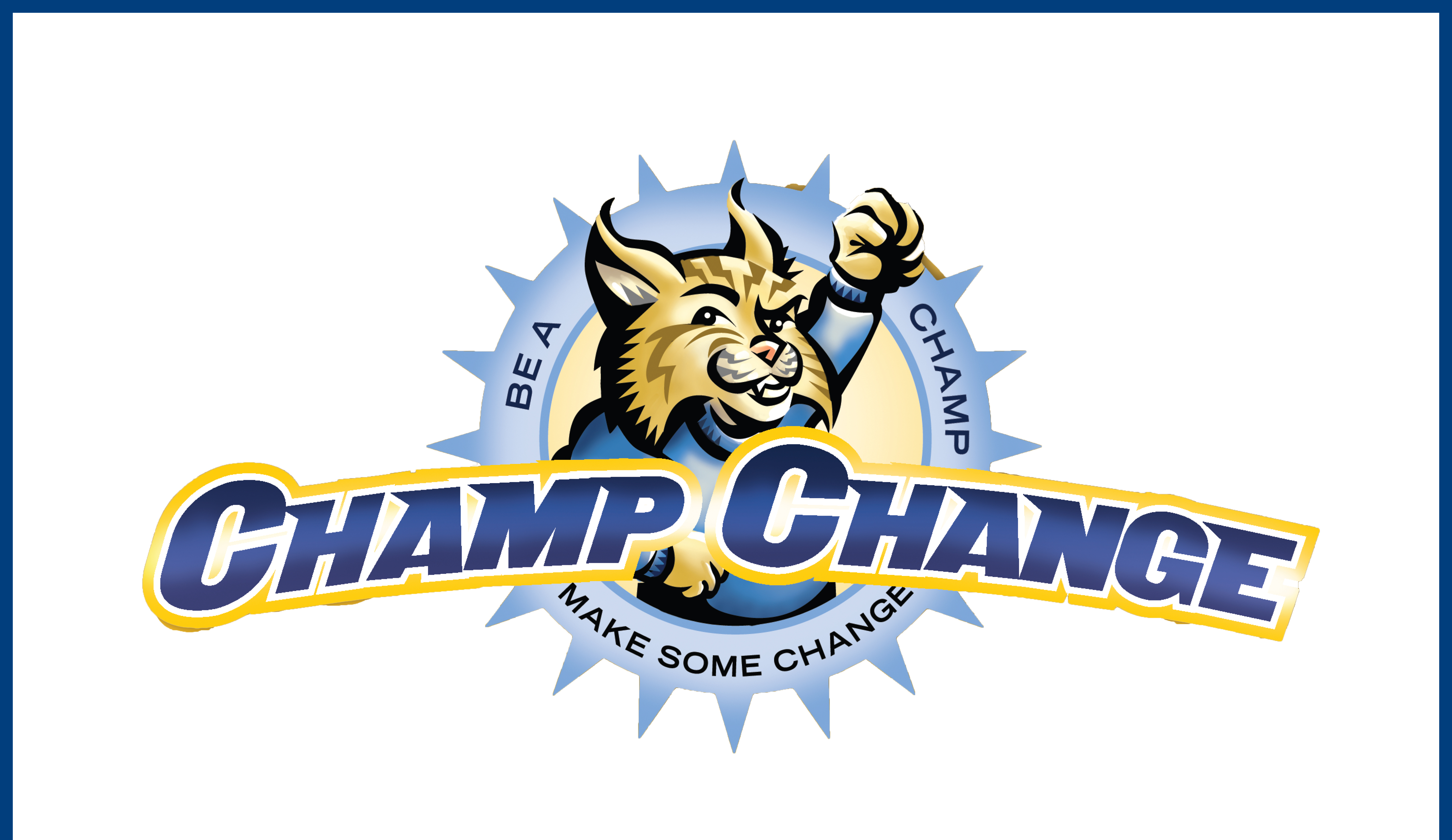 A picture of the champ change logo