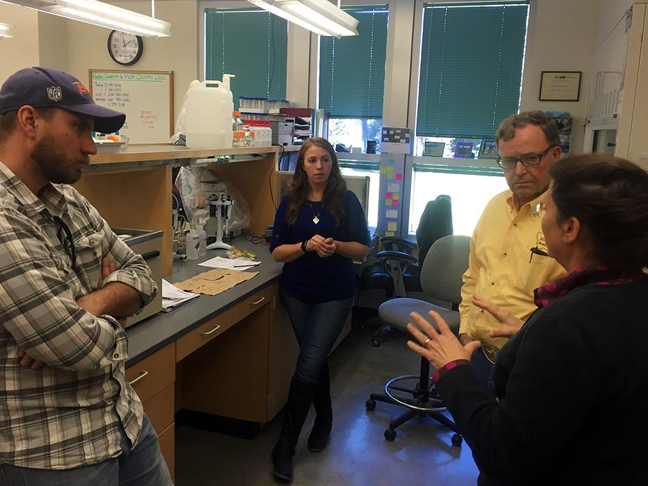 The MSU Malt Quality Lab works closely with the Montana Wheat and Barley Committee to serve Montana growers and the Montana economy