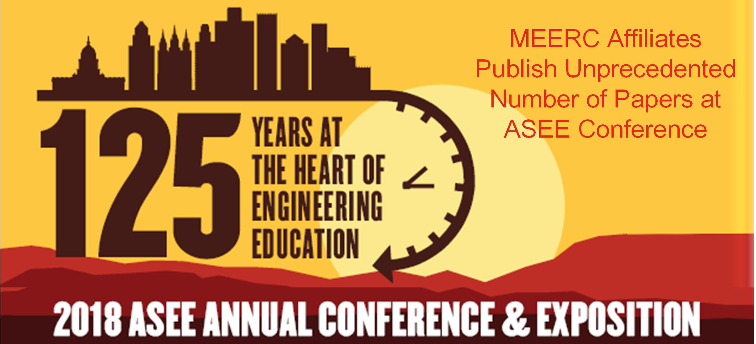 MEERC at ASEE 2018