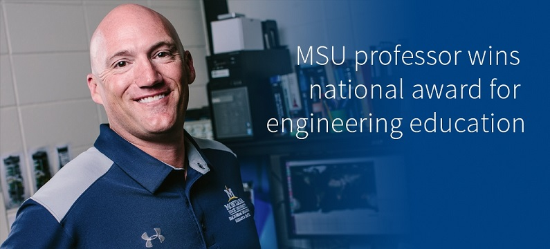 LaMeres Wins National Award for Engineering Education