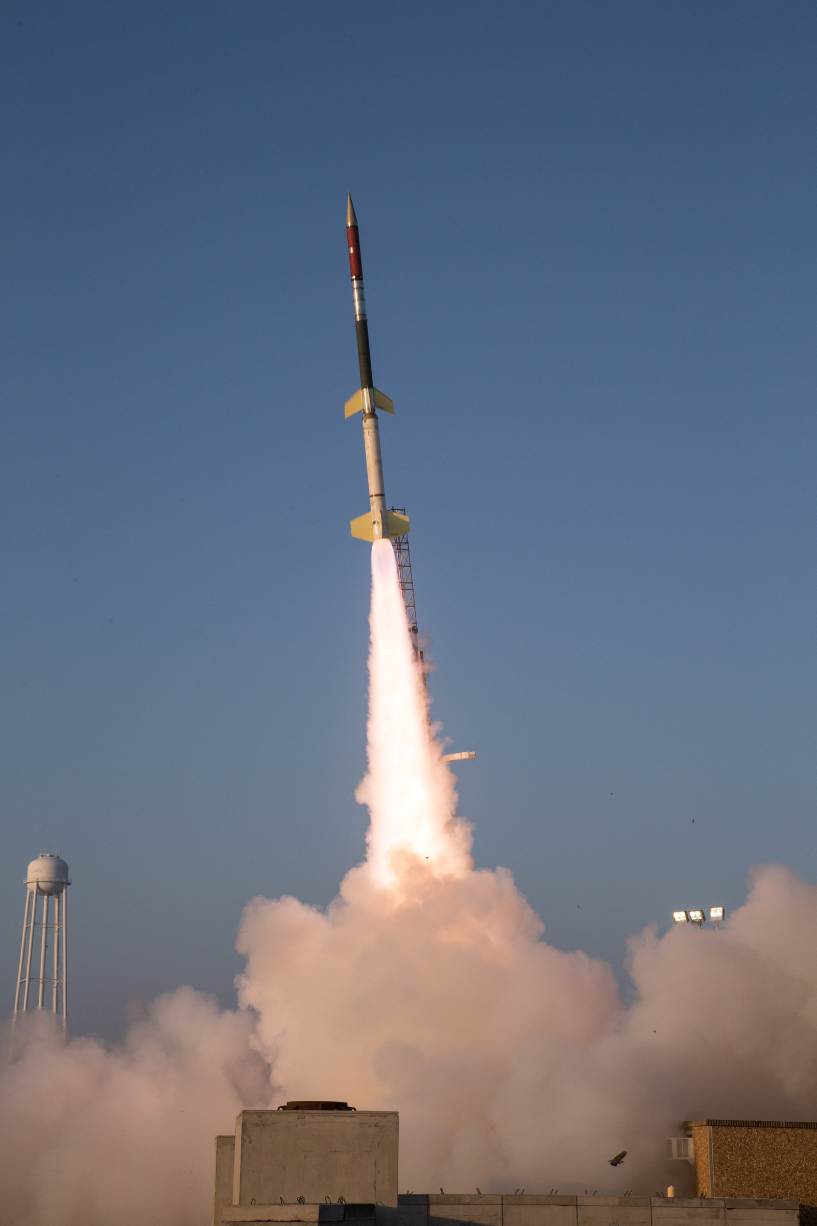 RadPC Launch out of Wallops