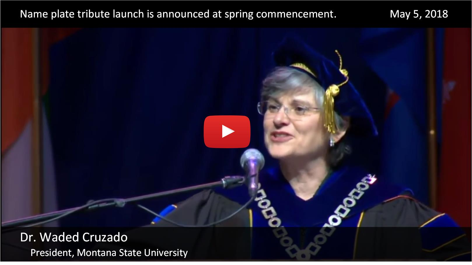 RadSat Commencement Announcement - May 5, 2018