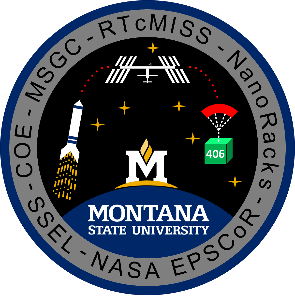 RTcMISS Mission Patch