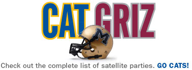 CAT-GRIZ: Saturday, Nov 22. Kick-off @ 12:05 p.m. in Missoula