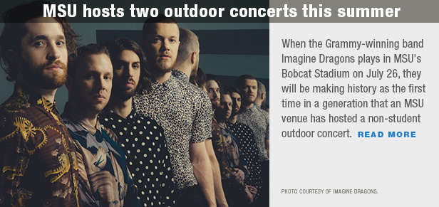 MSU hosts two outdoor concerts this summer