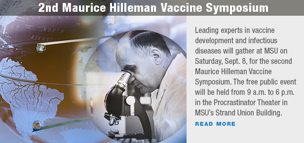 2nd Maurice Hilleman Vaccine Symposium