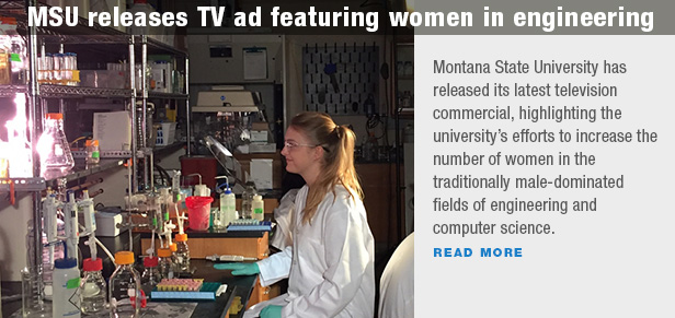 MSU releases TV ad featuring women in engineering