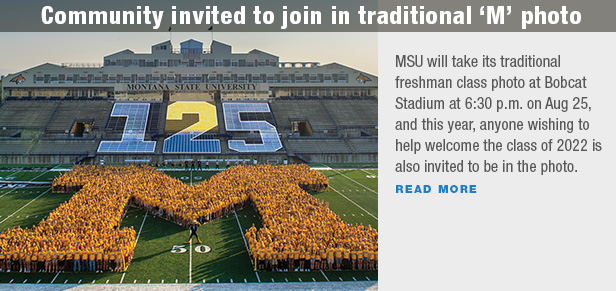"Community invited to join in traditional ""M"" photo"