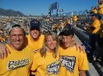 WINNER: Gold Rush in the Sonny Holland End Zone. Photo submitted by Sharon Craig.