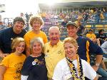 Three generations of the Sherrick family at Bobcat Stadium Homecoming 2011. Photo submitted by: Sheree Watson.