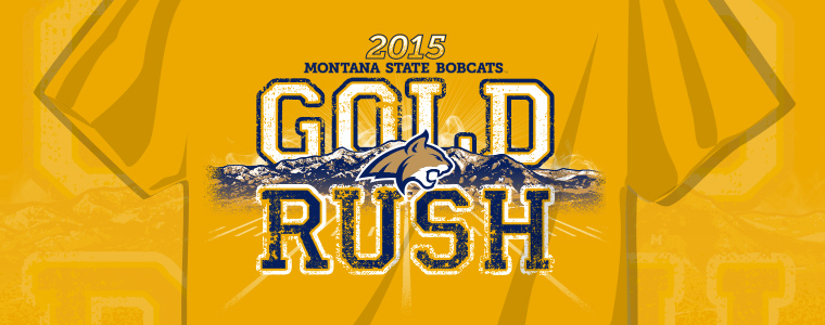 Gold Rush 2015 T-Shirt Design
