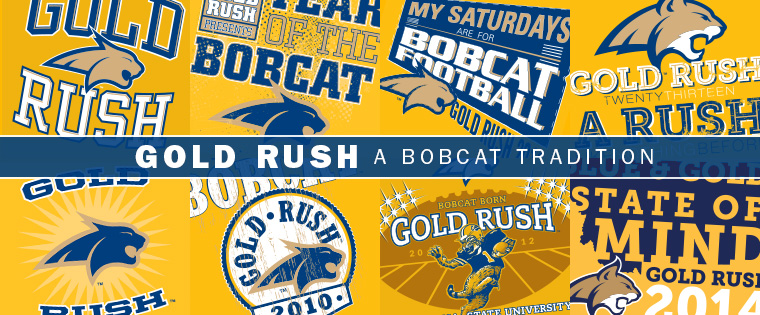 Gold Rush - A Bobcat Tradition