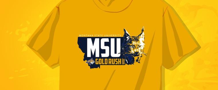 Gold Rush - Bobcat Spirit   Montana State University