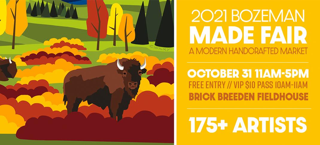 Montana Made Fair coming October 31st, 2021