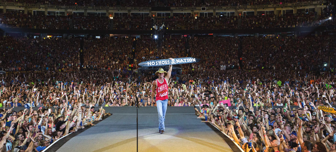 Kenny Chesney coming July 9th, 2022