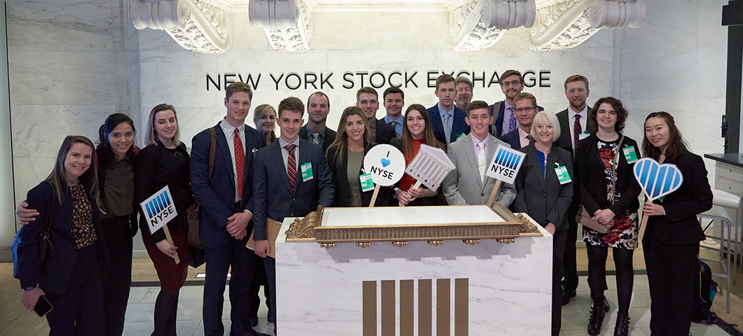 Travel to New York City and visit the NYSE and other financial institutions.