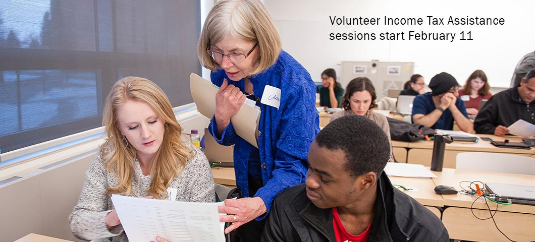 Volunteer Income Tax Assistance (VITA) starts February 11