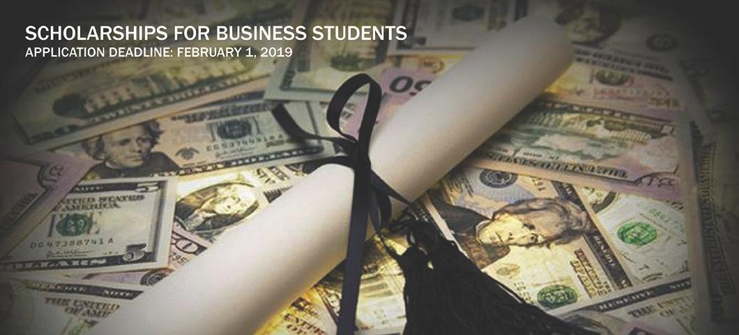 Scholarship information for business students
