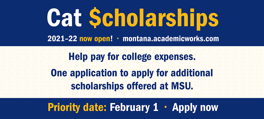 The Cat Scholarships application portal is now open.