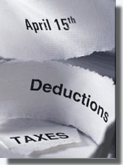 Tax deadline reminder for April 15