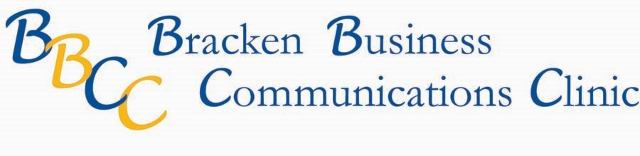 Bracken Business Communications Clinic (BBCC) logo