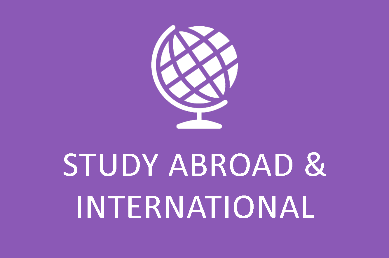 Study Abroad and International Opportunities Icon