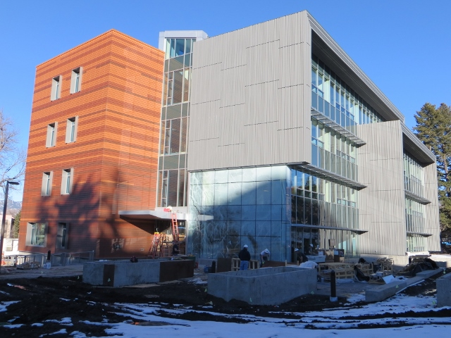 Jabs Hall progress - January 2015