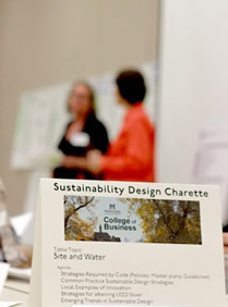 Sustainability Charette