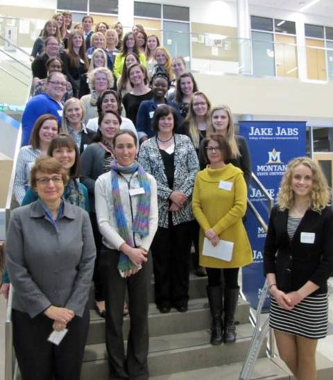 Photo of the Women Entrepreneurship Day attendees