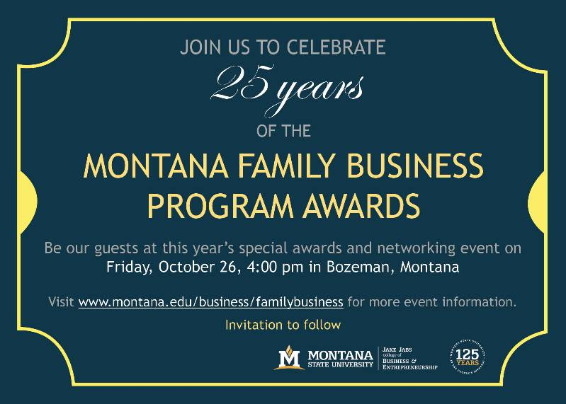 2018 Family Business Day Save the Date