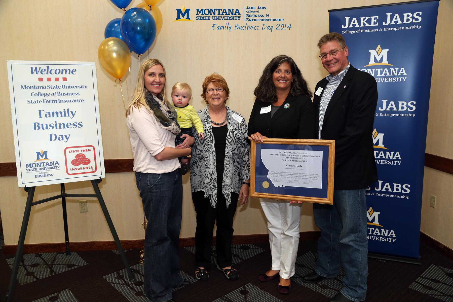 award winners jake jabs college  business entrepreneurship montana state university