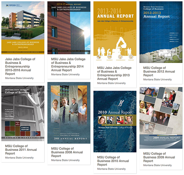 Previous annual report covers