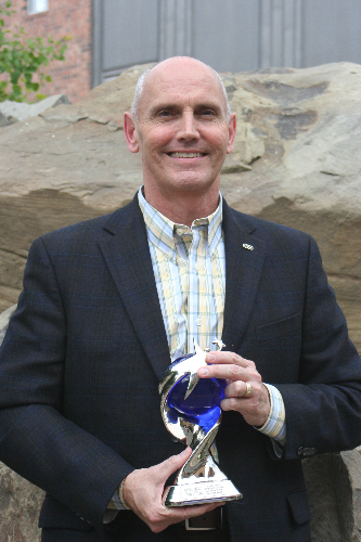 Rick Reisig, 2014 George D. Anderson Distinguished Service Award recipient