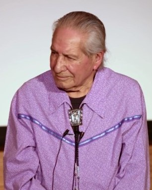 Oren Lyons on Stage