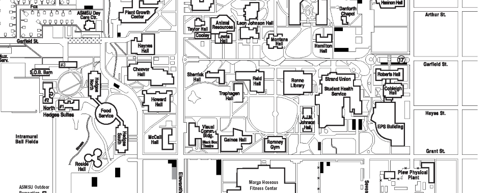 msu bozeman campus map Participating Locations Msu Catcard Office Montana State University msu bozeman campus map