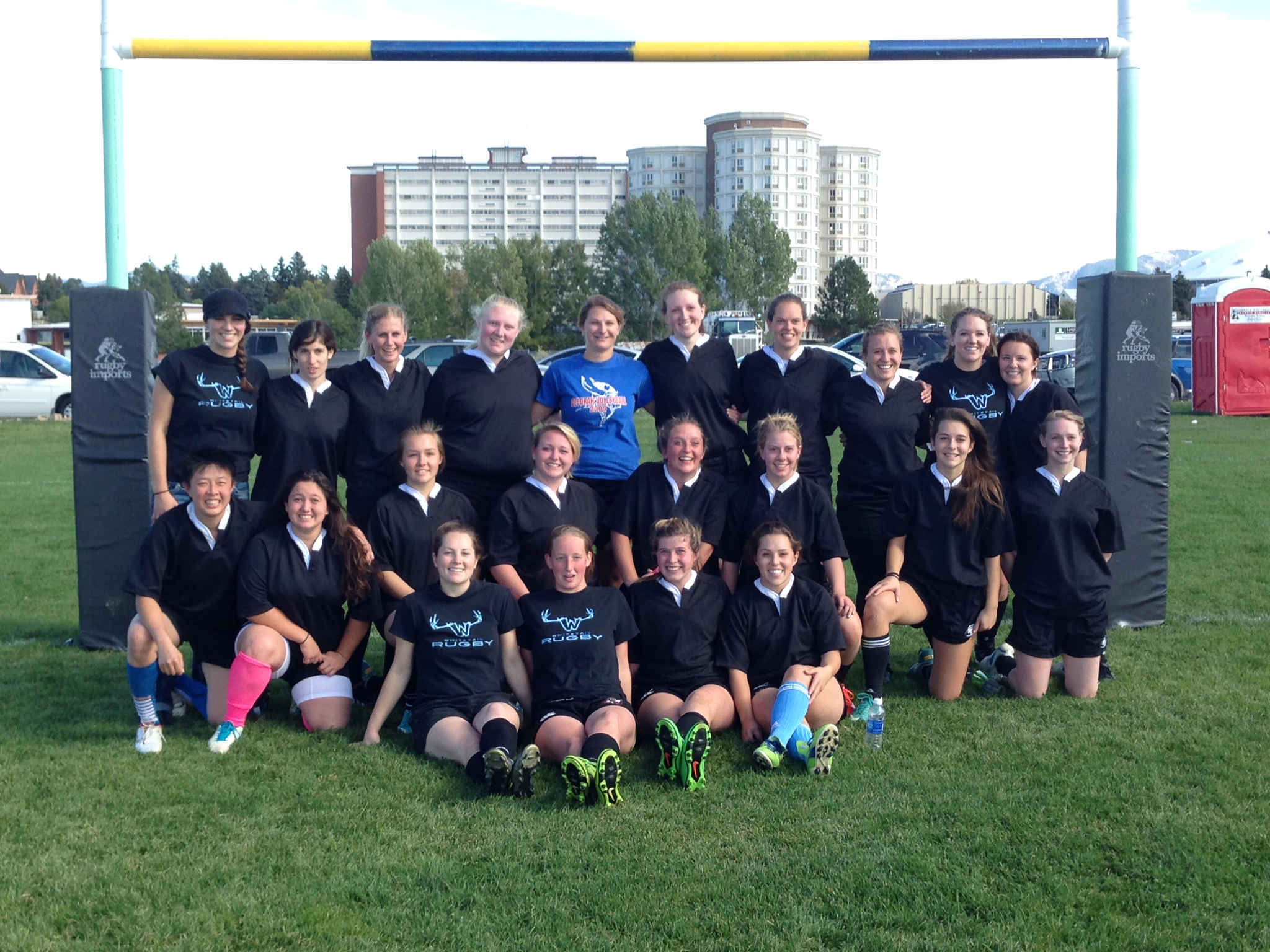 womens rugby team photo fall 2014