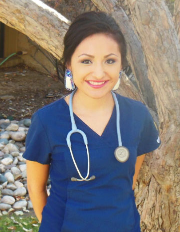 New Graduate - Nurse in uniform