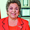 Donna Shalala, former U.S. Secretary of Health and Human Services and current president of the University of Miami, will receive an honorary doctorate degree during MSU's spring commencement on Saturday, May 3.  Photo courtesy of the University of Miami.
