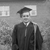 Maurice Hilleman, who is responsible for nine of the 14 recommended vaccines, stands for a graduation picture in 1941 in the iris garden adjacent to Herrick Hall on the campus of what was then Montana State College. Hilleman, who grew up in Miles City, passed away in 2005, is the subject of a documentary film currently in production. Photo courtesy of Lorraine Hilleman.