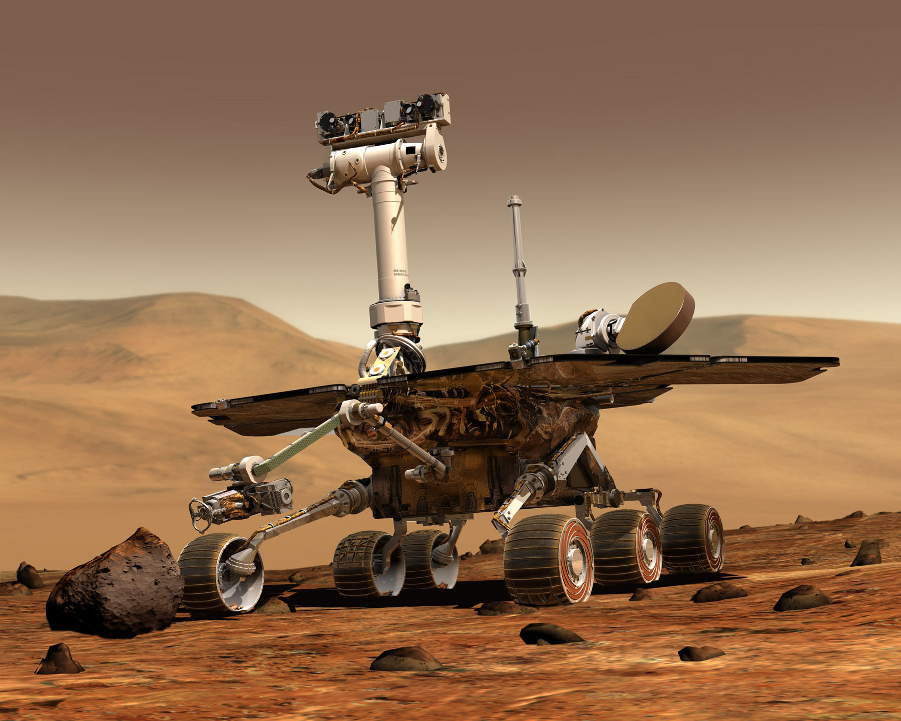 NASA scientist to lecture May 5 on life on Mars