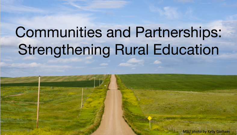 Communities and Partnerships: Strengthening Rural Education