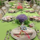 Image of decorated table.