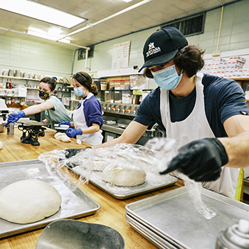 Indulge bakery workers
