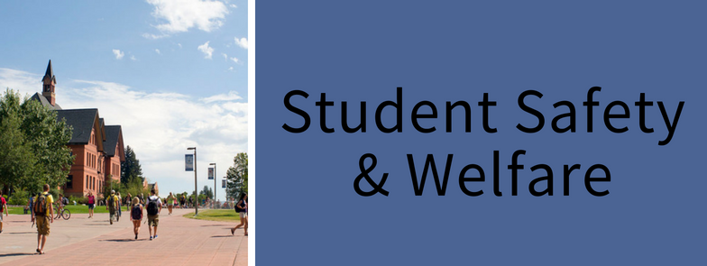 student safety & welfare home page banner